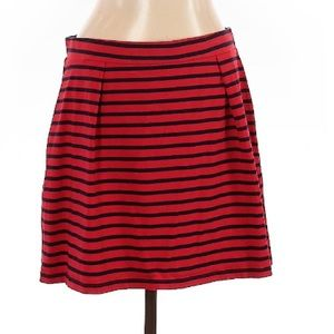 Tommy Hilfiger Red Pinstripes Skirt